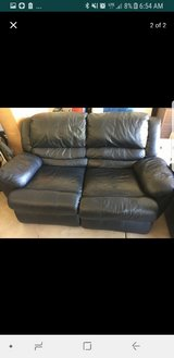 leather couch in Wheaton, Illinois