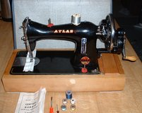 ATLAS HAND SEWING MACHINE RARE COLLECTIBLE in Lakenheath, UK