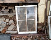 old windows in Fort Campbell, Kentucky