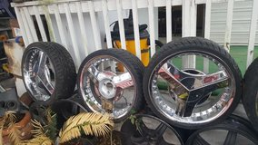 20 inc rims for sale!! in Spring, Texas