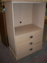Large TV Stand with 3 drawers in Cherry Point, North Carolina