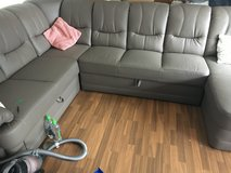 Taupe Sectional Couch in Ramstein, Germany