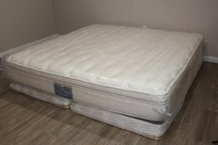 King Pillow Top Mattress Set - Air Spring in Houston, Texas