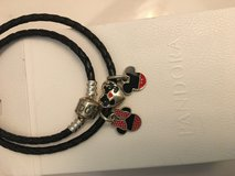 Pandora bracelet NEW with Disney charms in Baytown, Texas