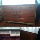 Updated Eight Drawer Dresser in Shorewood, Illinois