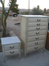 ^^^ Vintage Tall Dresser + Nightstand  ^^^ in 29 Palms, California