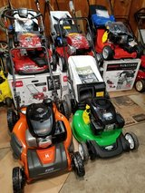 Lawnmowers . $165 To $335 . New and used available in Joliet, Illinois