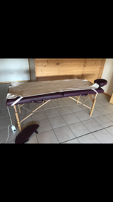 Portable Massage Table - Like New! in Ramstein, Germany