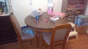 Dining room table and 4 chairs 1/2 OFF in Cherry Point, North Carolina