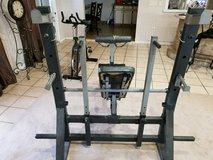 weight bench set in Perry, Georgia