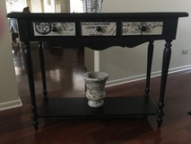 Black side table in Naperville, Illinois