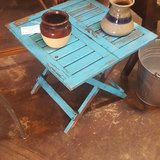 Vintage Folding Side Table in Spring, Texas