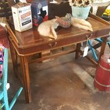 Antique Solid Wood Desk in Spring, Texas