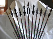 African Arrow Set on Stand (11) Piece in Wilmington, North Carolina