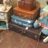 Vintage Luggage Suitcases in Spring, Texas