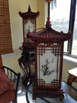 Japanese Pagoda table lamps in Jacksonville, Florida