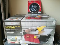 """Chicago Electric 7"""" Portable Wet Cutting Tile Saw. Brand New in Sealed Box. in Spring, Texas"""