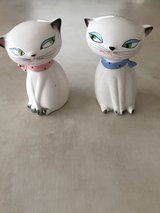 Holt Howard Cozy Kitten salt and pepper shakers in Bolingbrook, Illinois
