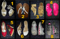 Assorted women's shoes- sizes 7.5, 8 and 8.5 in Dothan, Alabama