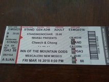 Cheech and ching ticket in Ruidoso, New Mexico