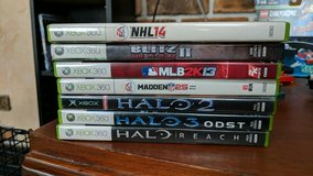 xbox game lot in Bolingbrook, Illinois