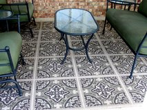 OUTDOOR PATIO RUG  10.5 FT X 7.5 FT. in Perry, Georgia