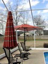 2  OUTDOOR UMBRELLAS, MATCHING 7 FT. in Perry, Georgia