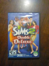 Sims 2 double deluxe pc game in Camp Lejeune, North Carolina