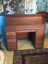 "Rolltop desk 29 1/2deep  40"" tall in Cleveland, Texas"