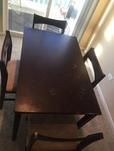 4 chair dining table in Lockport, Illinois