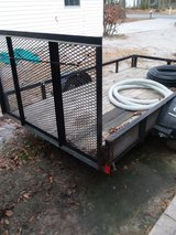 5 x 10 ft utility trailer ; in Beaufort, South Carolina