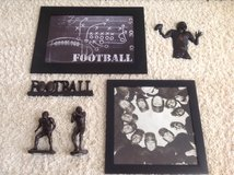 Football Decor in Byron, Georgia