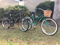 His & Her Bikes in Beaufort, South Carolina