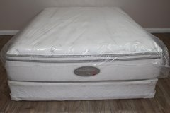 FULL SIZE SIMMONS BEAUTYREST SPA COLLECTION PLUSH MATTRESS SET in Spring, Texas