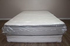 Restonic ComfortCare Serene Pillow Top Full Mattress Set in Spring, Texas