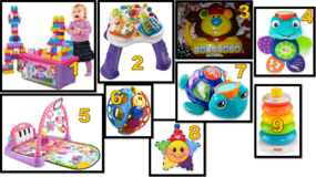 Assorted baby & toddler toys in Dothan, Alabama