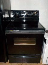 WHIRLPOOL GLASS TOP STOVE in Lumberton, North Carolina