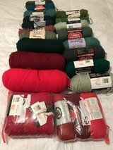 Craft yarn large, medium , small, lots of colors in Fort Rucker, Alabama