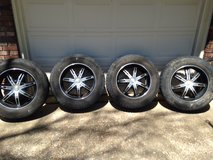"20"" KMC Surge Wheels - $275 in Fort Leonard Wood, Missouri"