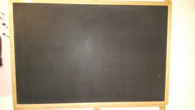 Wood Framed Quartet 407 Premium Large 6' Wide by 4' High Chalk Board in Lockport, Illinois