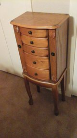 Jewelry cabinet armoire in Fort Sam Houston, Texas