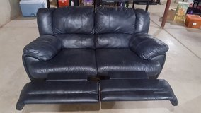 Leather Loveset recliners in Oswego, Illinois