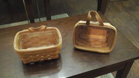2 Longaberger baskets in Lackland AFB, Texas