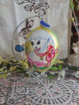 Easter Glass Egg Ornament in The Woodlands, Texas