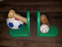 Solid Wood / Baseball Bookends in Fort Campbell, Kentucky