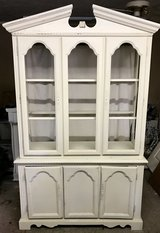 China cabinet in Fort Benning, Georgia