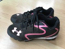 Under Armor Baseball Shoes, Youth size 3 in Ramstein, Germany