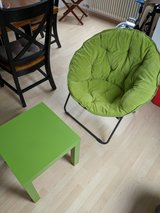 folding chair and table in Stuttgart, GE