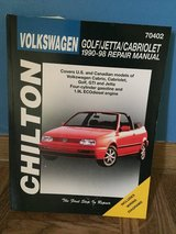 Chiltons Manual for Volkswagon Golf, 90-98 in Baumholder, GE