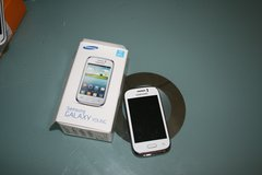 samsung galaxy young white.with box in Wiesbaden, GE